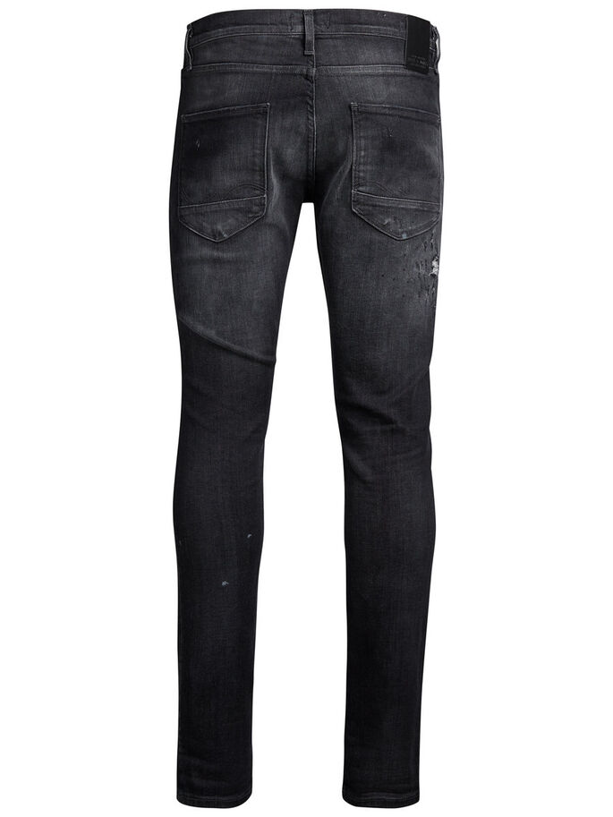 GLENN PAGE BL 732 JEAN SLIM, Black Denim, large