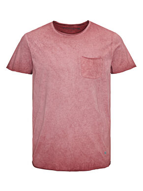 BLEICH-OPTIK LONGLINE T-SHIRT