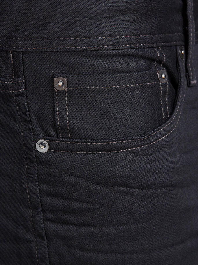 CLARK ORIGINAL JOS 935 REGULAR FIT-JEANS, Black Denim, large
