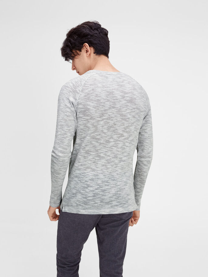 MELERAD SWEATSHIRT, Light Grey Melange, large