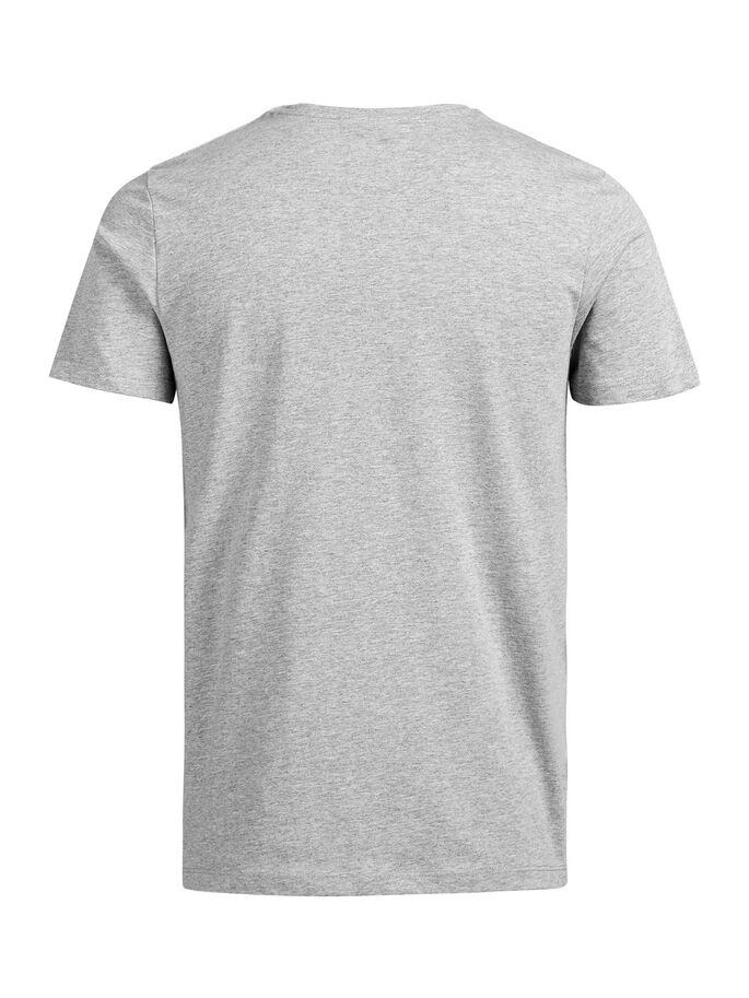 COLOUR POP T-SHIRT, Light Grey Melange, large