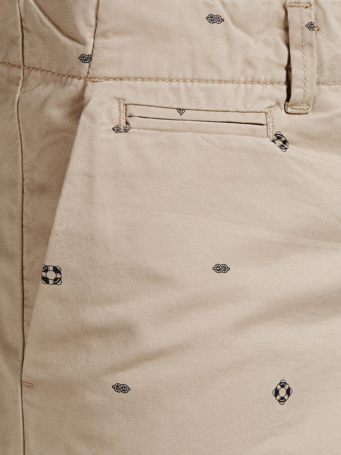 GRAHAM SHORT CHINO, White Pepper, large