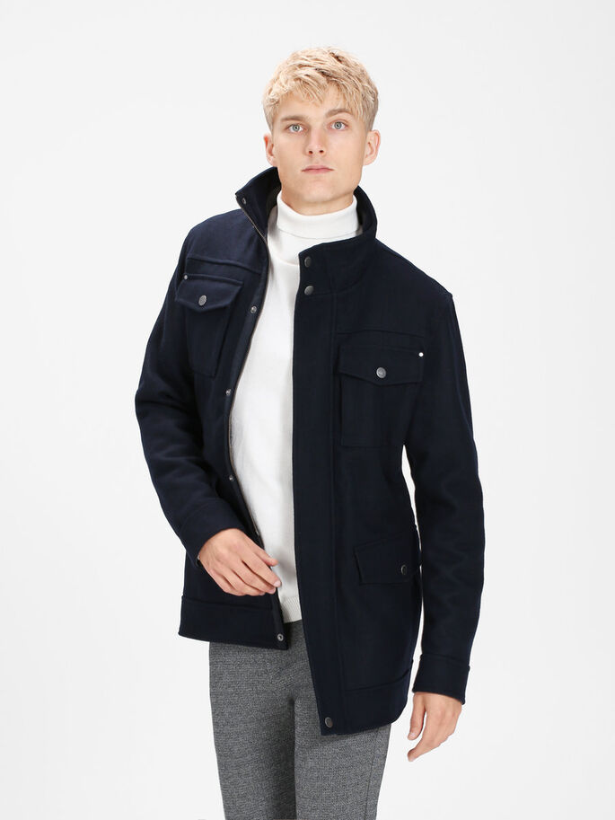 CLASSIC JACKET, Dark Navy, large