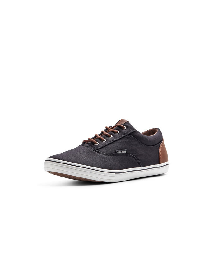CANVAS SNEAKERS, Anthracite, large