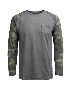CAMO SLIM FIT LONG-SLEEVED T-SHIRT