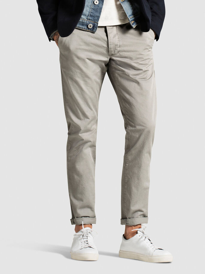 CODY GRAHAM AKM 201 CHINOS, Moon Mist, large