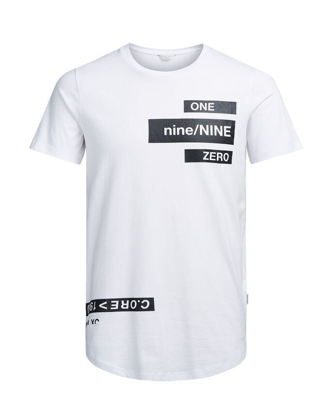 STATEMENT T-SHIRT, White, large