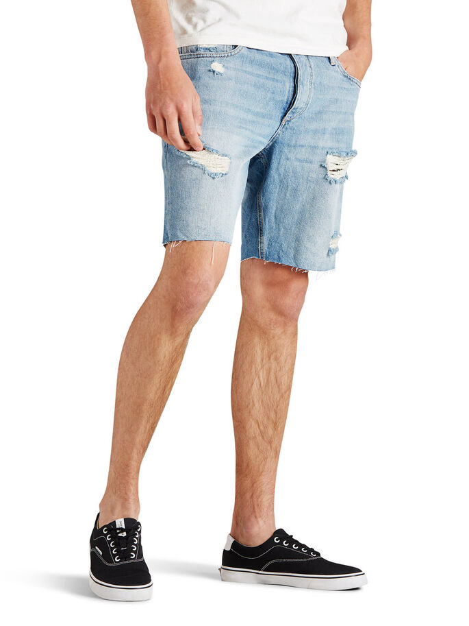 RICK ORIGINAL DENIM SHORTS, Blue Denim, large