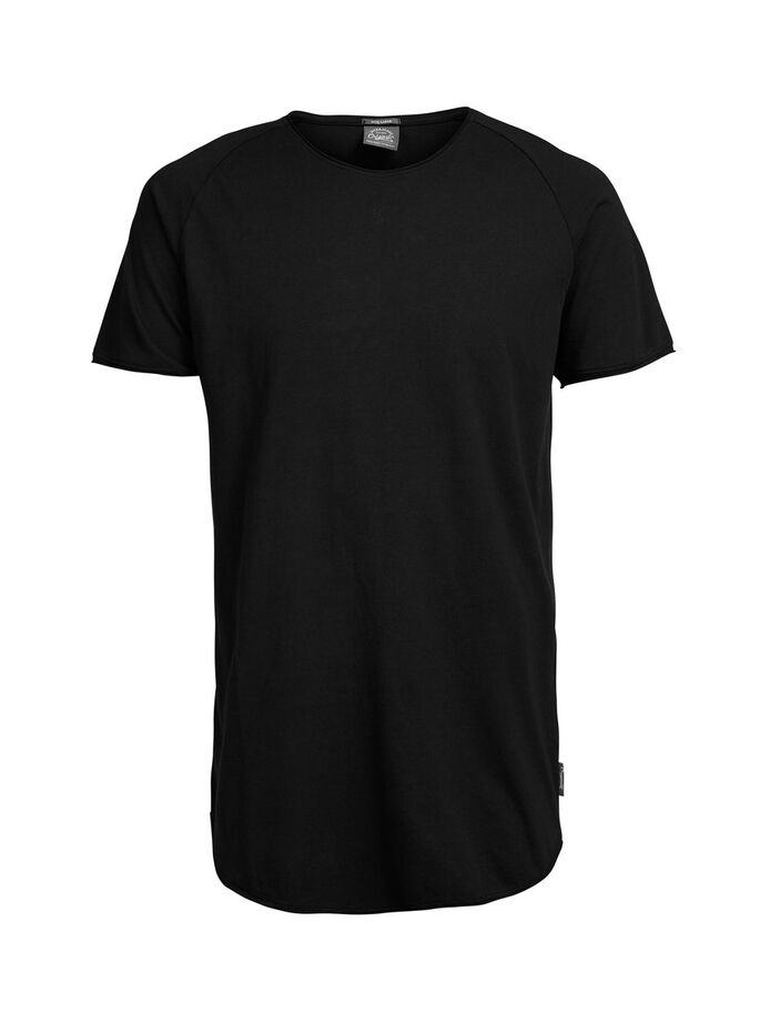 DÉCONTRACTÉ T-SHIRT, Black, large