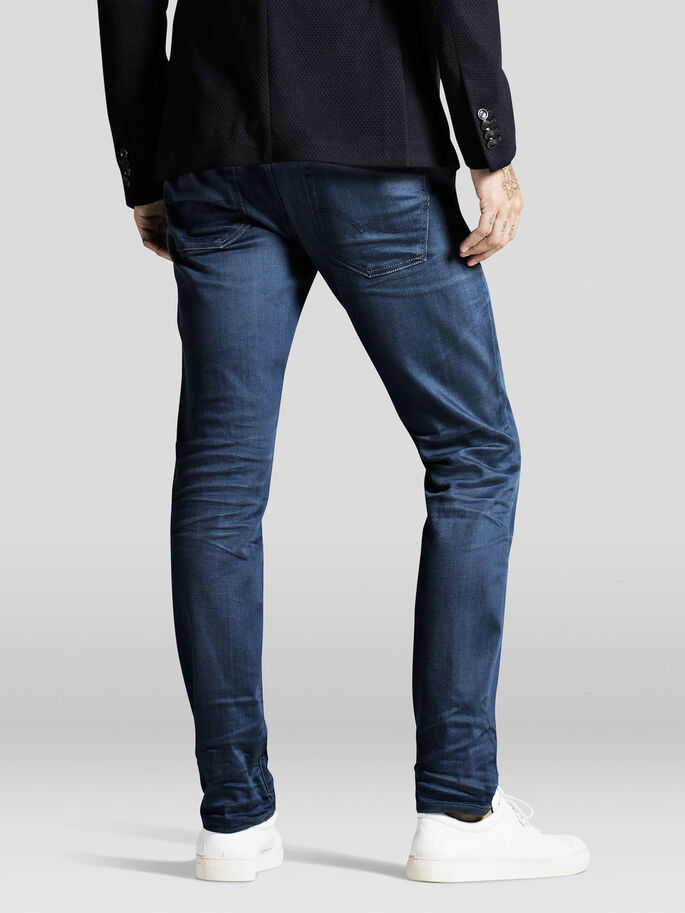 TIM ORIGINAL JJ 620 SLIM FIT JEANS, Blue Denim, large