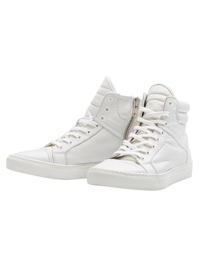 HIGH-TOP SNEAKERS, Bright White, large