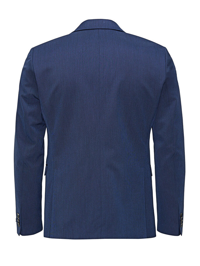GESTRUCTUREERDE BLAZER, Blue Depths, large