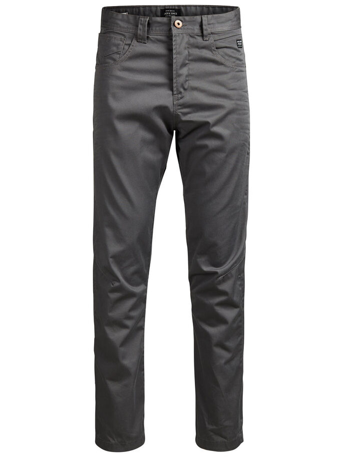 ANTI-FIT CHINOS, Charcoal Gray, large
