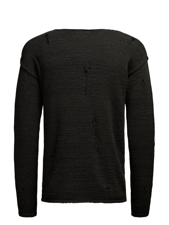 MARKANTER PULLOVER, Rosin, large