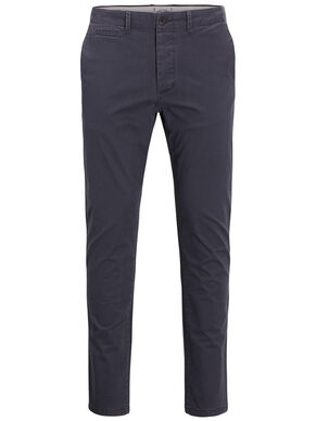 MARCO DE COLOR GRIS OSCURO SLIM FIT CHINOS