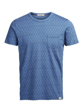 INDIGO DYED T-SHIRT