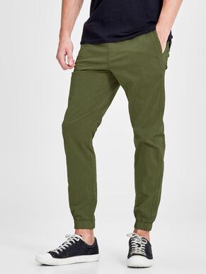VEGA LANE WW 252 OLIVE NIGHT CHINOS