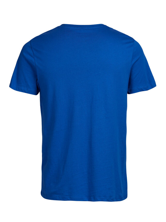 CASUAL T-SHIRT, Classic Blue, large