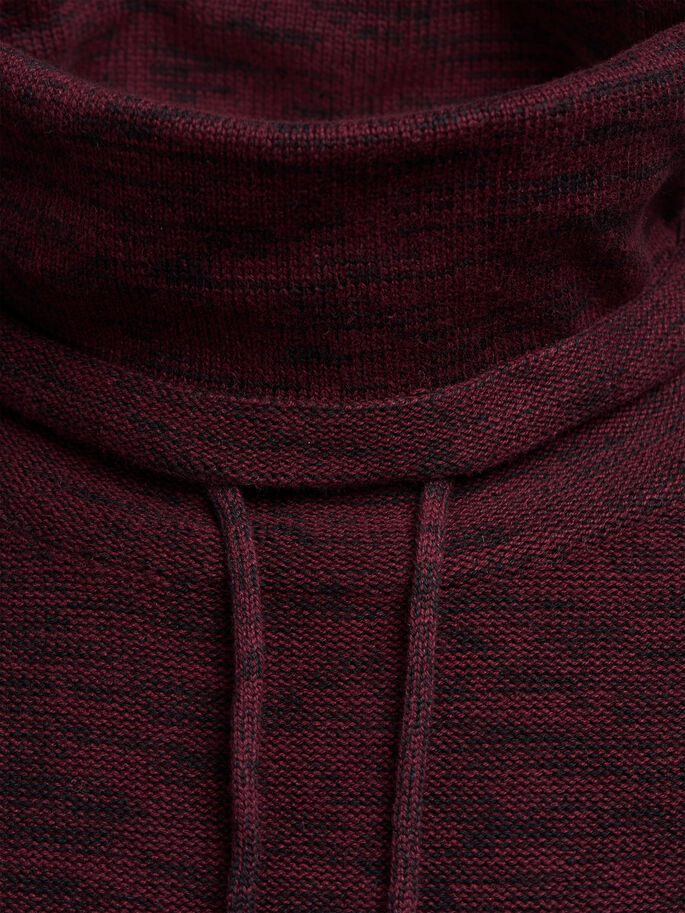 HIGH NECK KNITTED PULLOVER, Port Royale, large