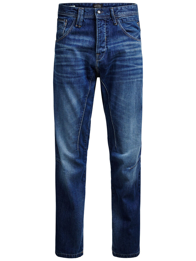 STAN JJ 990 ANTI FIT JEANS, Blue Denim, large