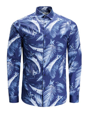 ALL-OVER PRINTED LONG SLEEVED SHIRT