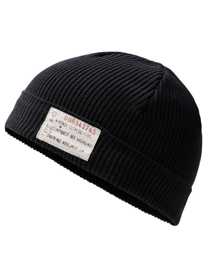 RUGGED BEANIE, Total Eclipse, large