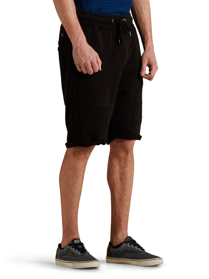 STOERE SWEATSHORT, Black, large