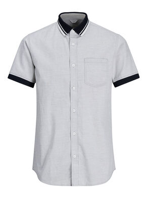 STRUCTURED SHORT SLEEVED SHIRT