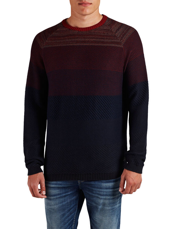 CLASSIC PULLOVER, Fired Brick, large
