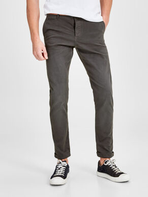 CODY LORENZO AKM 195 DARK GREY CHINOS