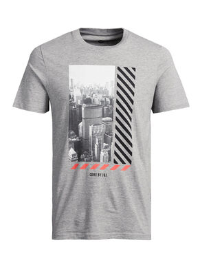 GRAFISK FOTOPRINT T-SHIRT