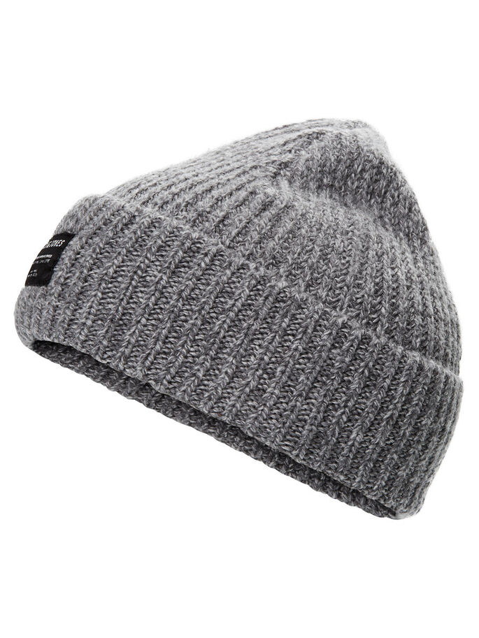 CORTO GORRO GORRO, Light Grey Melange, large