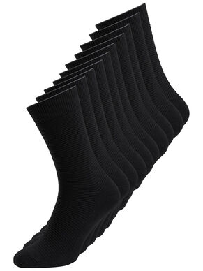 BLACK 10-PACK SOCKS