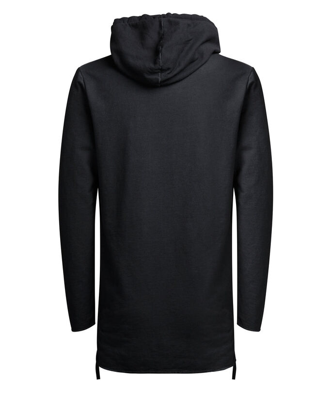 CLASSIQUE SWEAT SWEAT À CAPUCHE, Black, large