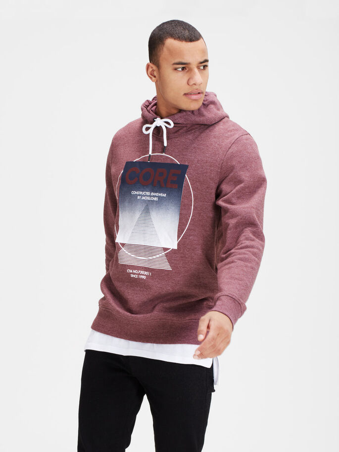GRAFIK- HOODIE, Port Royale, large