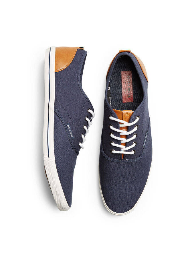CANVAS SNEAKERS, Dress Blues, large