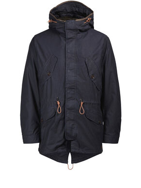 FISHTAIL PARKA COAT