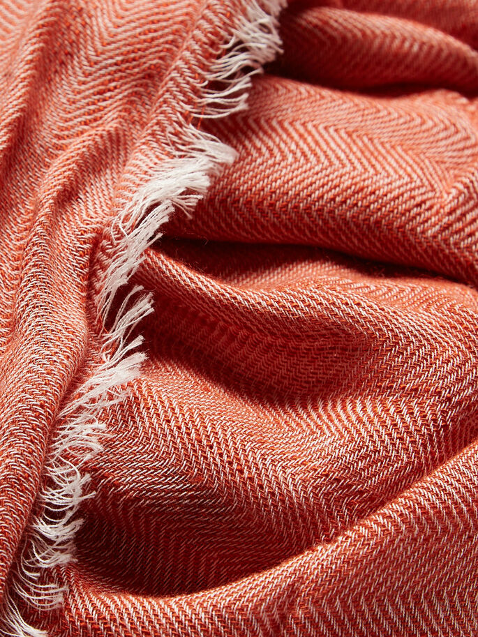 CLASSIC SCARF, Burnt Ochre, large