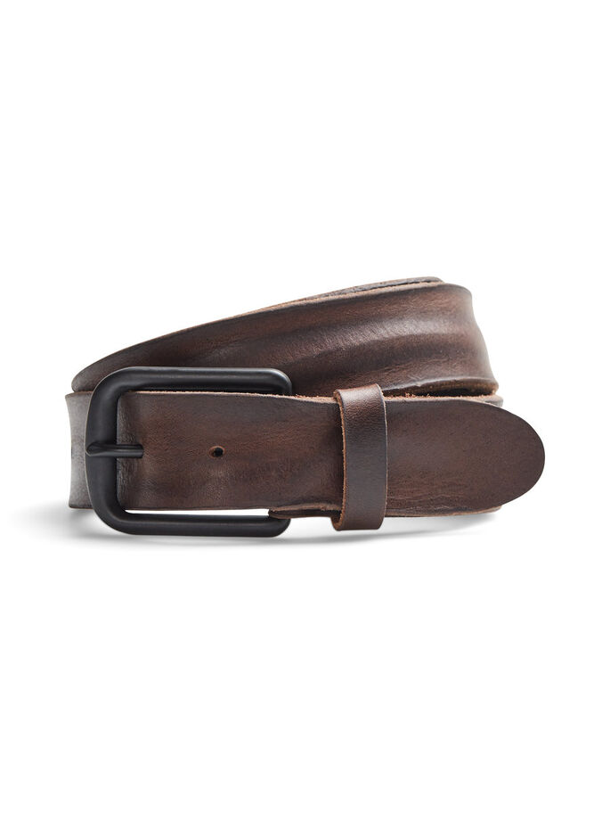 RUGGED BELT, Black Coffee, large