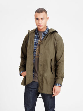 LIGHT PARKA COAT