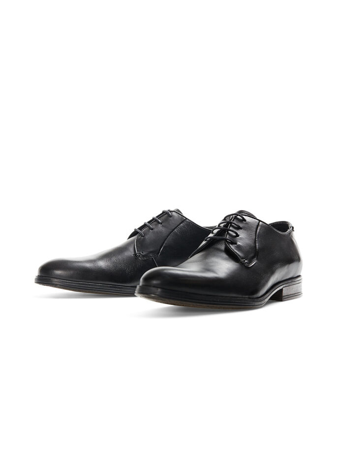 DRESS SHOES, Black, large