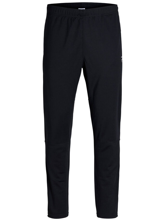 FUNCTIONAL TRAINING TROUSERS, Black, large