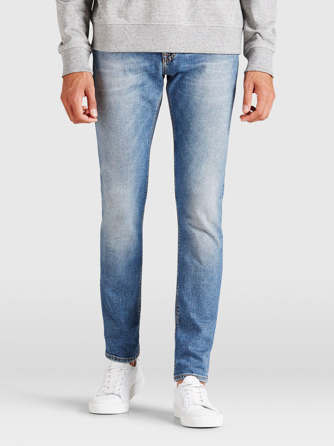 GLENN FELIX BL 651 JEAN SLIM, Blue Denim, large