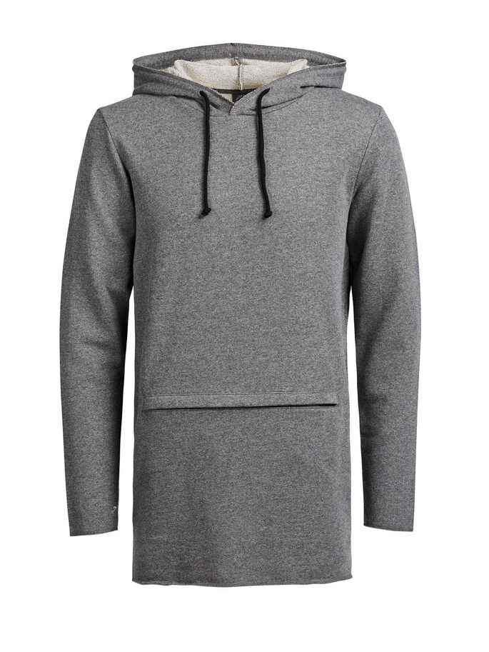 CASUAL HETTEGENSER, Dark Grey Melange, large
