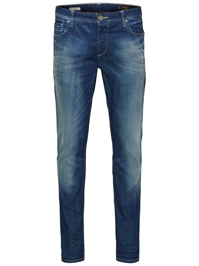 TIM ORIGINAL JOS 919 JEANS SLIM FIT, Medium Blue Denim, large