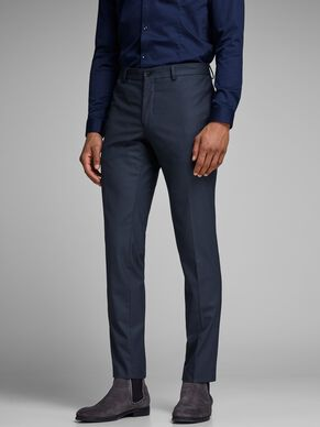 CLASSIC SLIM FIT SUIT PANTS
