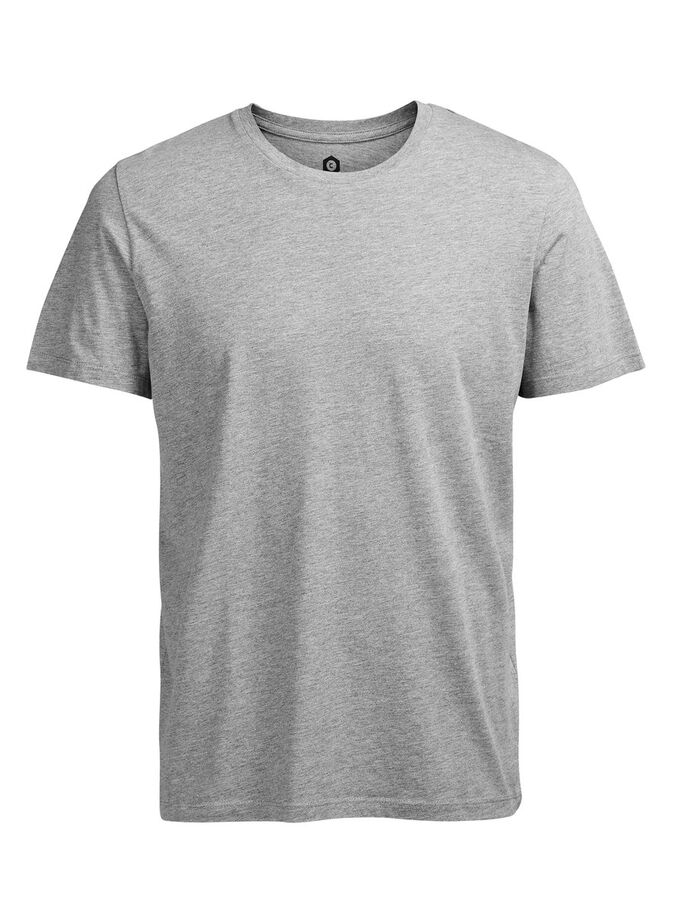AVSLAPPNAD T-SHIRT, Light Grey Melange, large