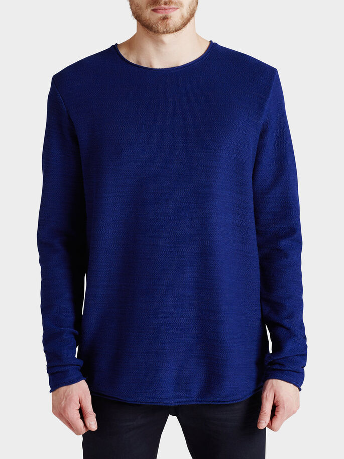 REVERSERAD SWEATSHIRT, Blue Depths, large