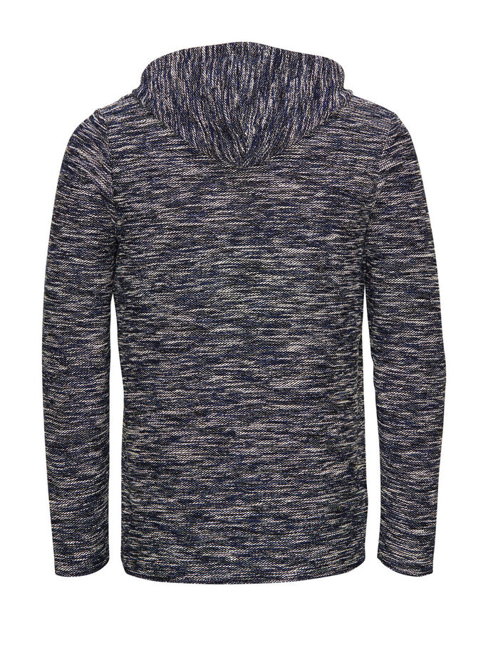 RUGGED HOODIE, Mood Indigo, large