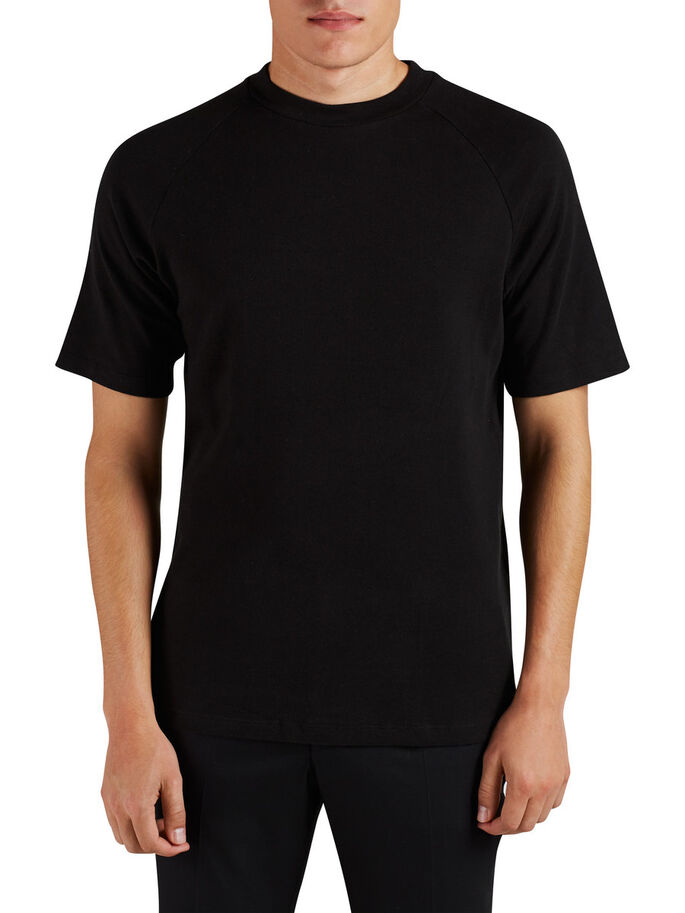 UNI T-SHIRT, Black, large